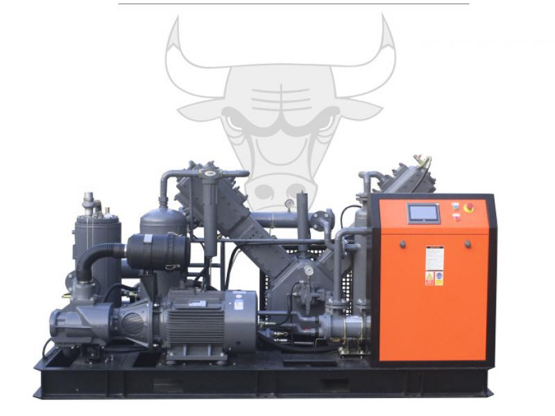 High pressure air compressor for PET blowing machine