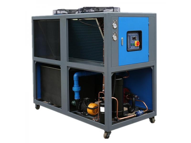 air cooled industrial water chiller for injection machine
