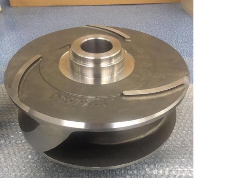 Pump valve impeller
