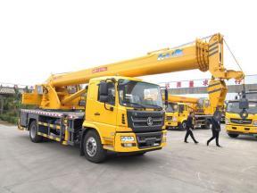 Shaanxi automobile 16 ton truck crane