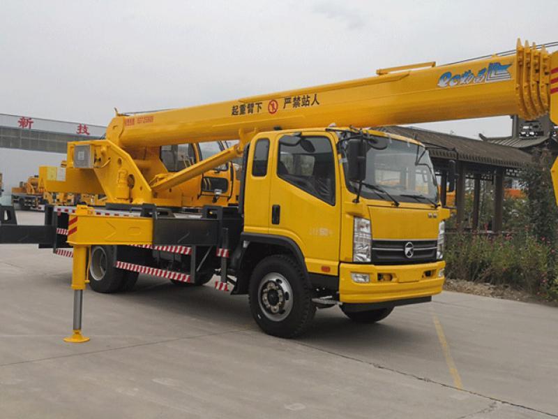 New model kema 12 ton state 5 truck crane