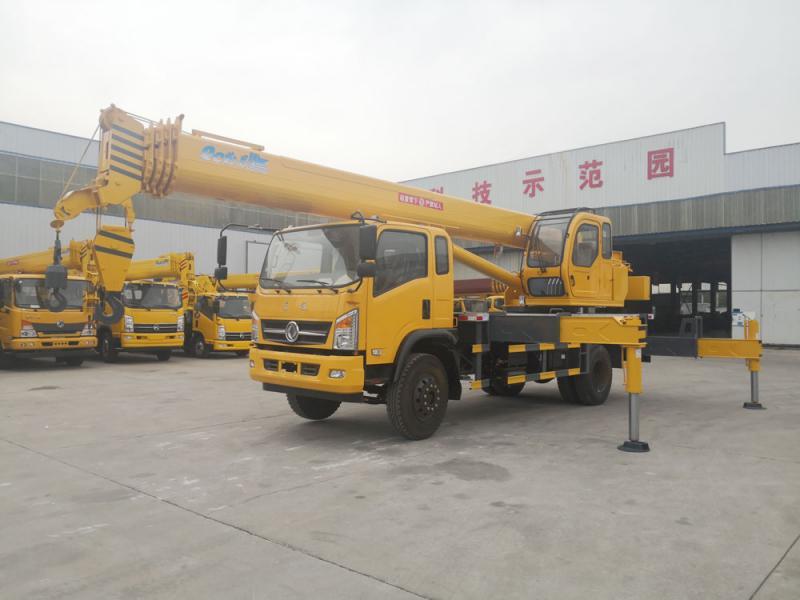New 16 tons dong feng 5 truck crane