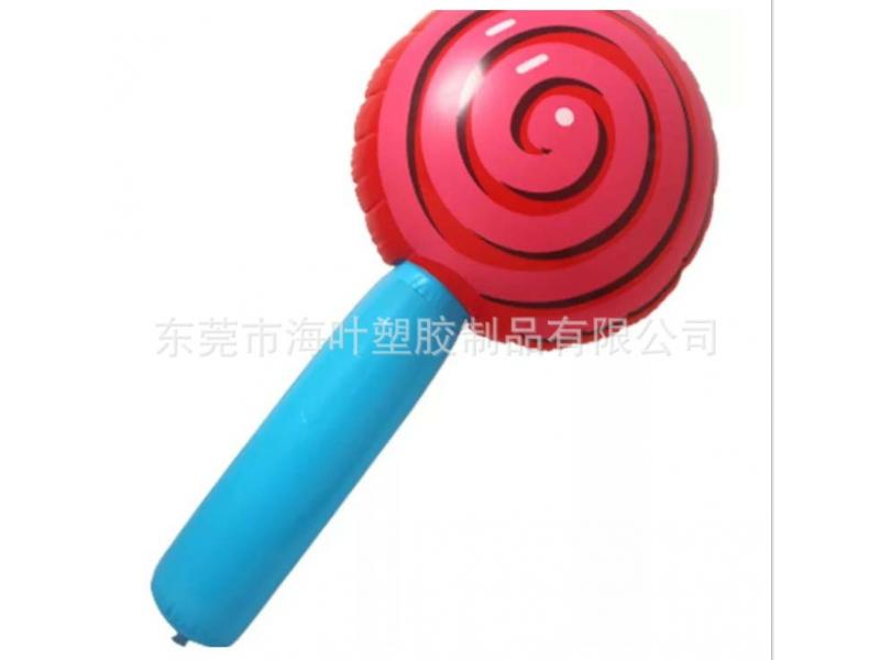 Inflatable PVC lollipop inflatable children's amusement PVC lollipop inflatable baseball bat inflat