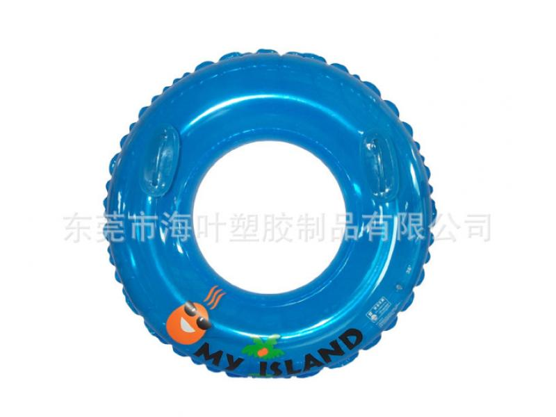 PVC inflatable single swimming ring inflatable creative swimming ring paddle swimming ring inflatabl