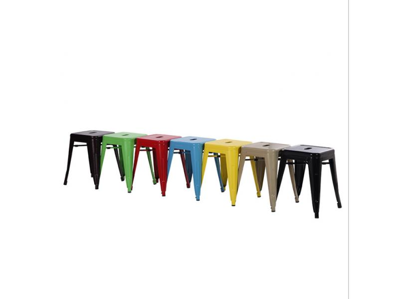 Industrial style simple European iron sheet stool bar stool iron art high stool metal front desk ret