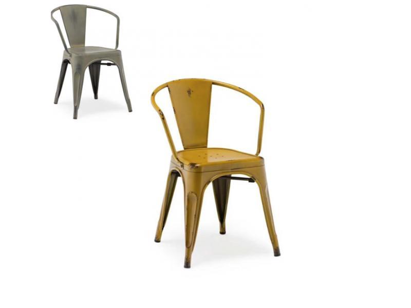 Iron art metal backrest dining chair iron sheet do old chair outdoor cafe restaurant bar stool retro
