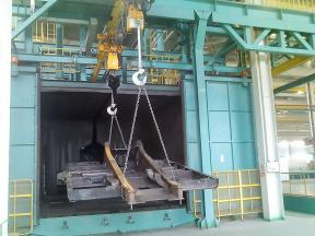 construction machinery and other large shot blasting machine
