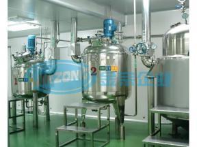 Pharma Liquid Syrup Manufacturing Plant Oral Liquid Mixer