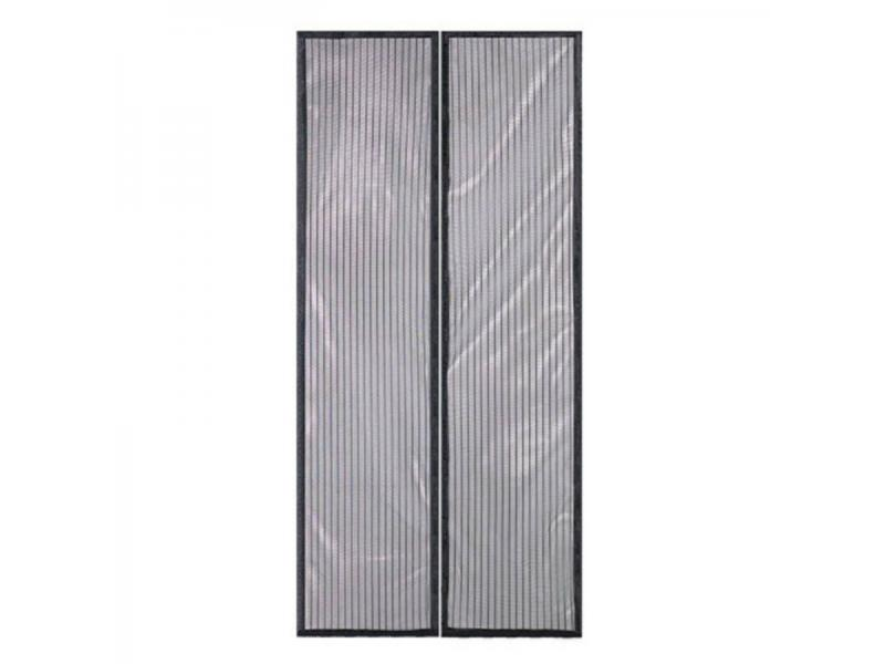 Magic fiberglass door curtain