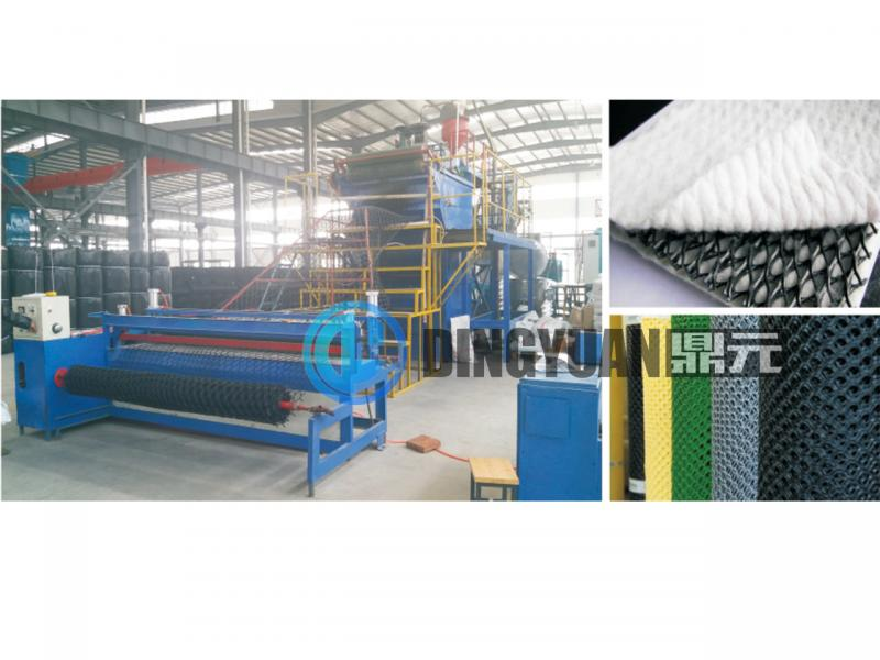 High speed Plastic flat rigid net machine