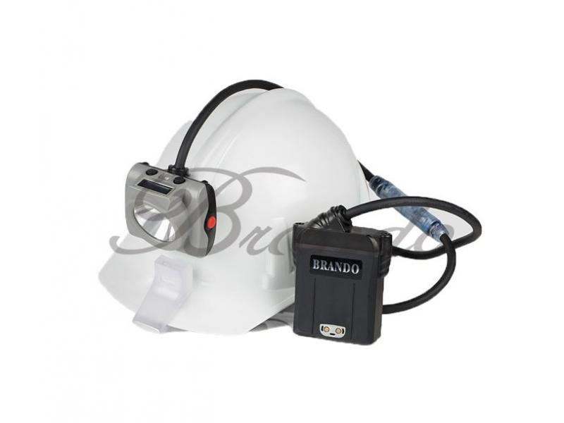 KL6M corded mining lamp with pedestrian visibility light (Customized)