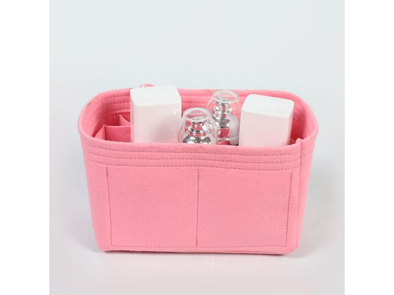 make felt wool bag insert organizer