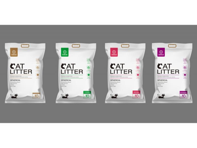 10kg per bag Bentonite cat Litter