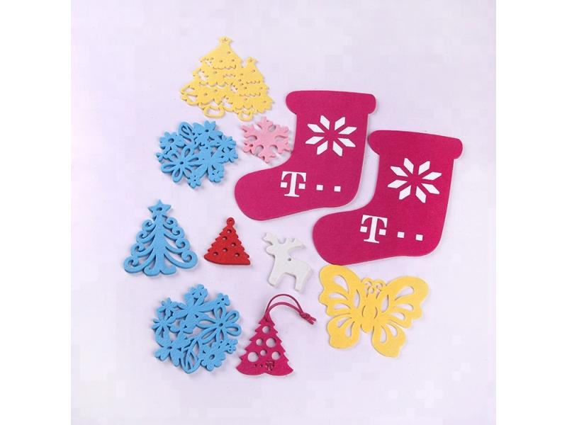 Wholesaler felt christmas tree sales hanging decoration supplier