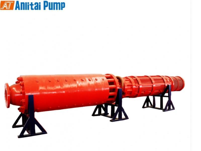 Coal Mine High Pressure Large Capacity Drainage Submersible Pump