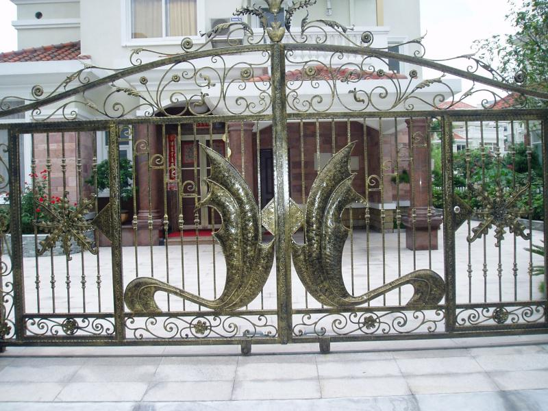 top selling garden iron kinds of gate designs