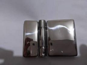 Stainless steel mirror polished hinge