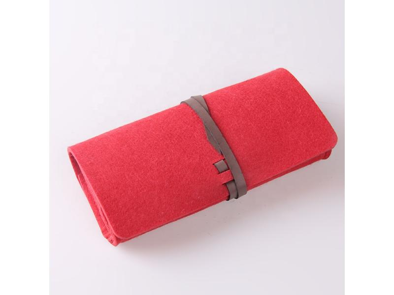 wholesale pencil case felt pen bag for teenager