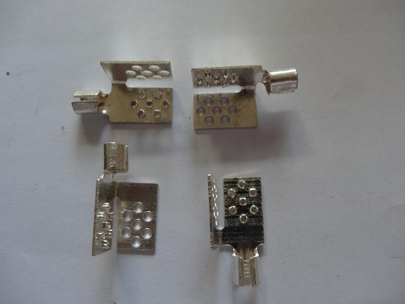 Electric heating film terminal block