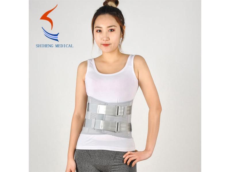 Waist support belt aluminum steel support lumbar brace selling