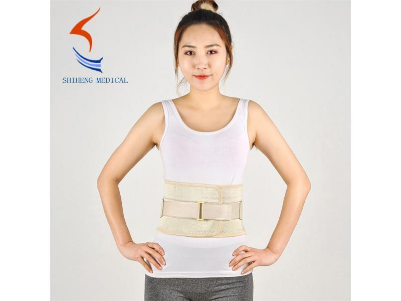 Elastic lumbar waist brace breathable design waist support