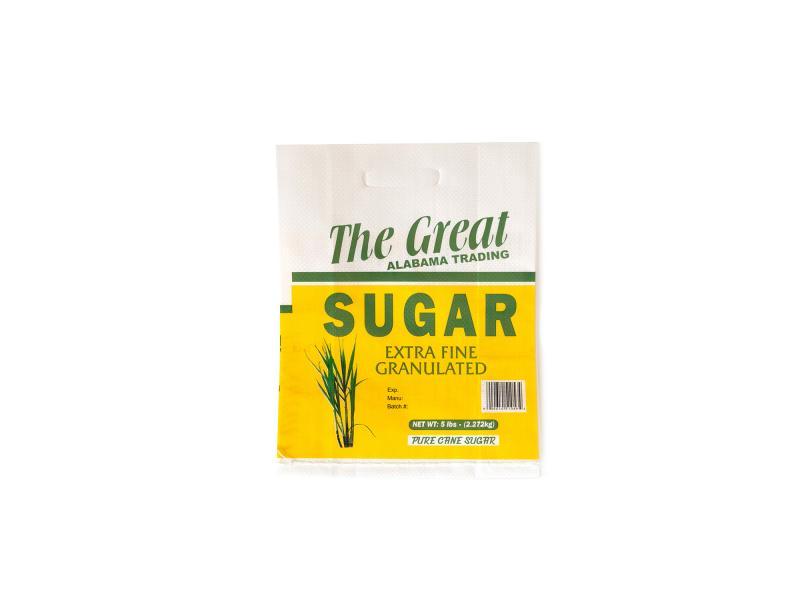 5kg 10kg 20kg 25kg 50kg PP woven sugar bag