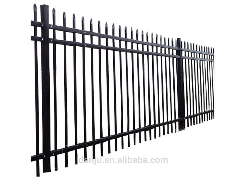 Hot Sale Cheap Price Tubular Steel Picket Fence