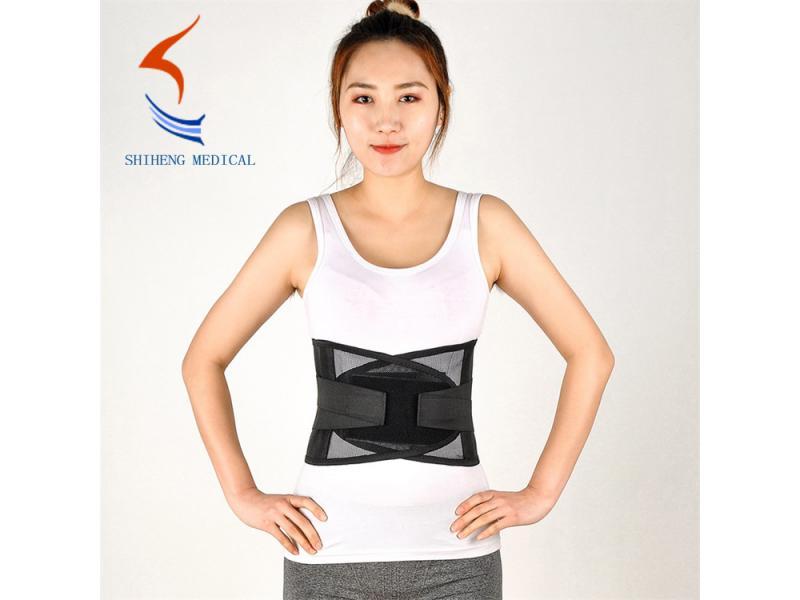 Lumbar waist brace black color medical brace