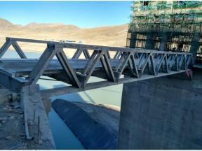 Portable Stability Bailey Truss Bridge