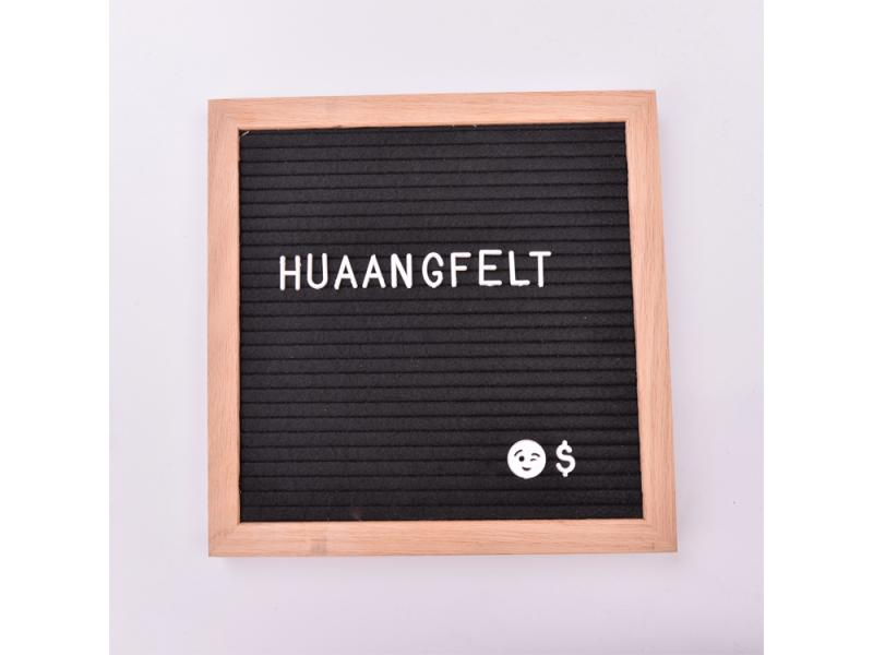 China manufacturer Custom color 340 pcs 3 / 4 1 inches plastic felt letter board letters for wholesa
