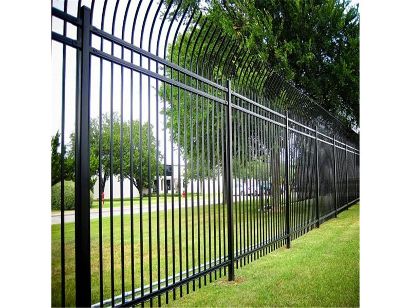 Wholesale Modern Metal Used Wrought Iron Fencing Steel Fencing for Sale