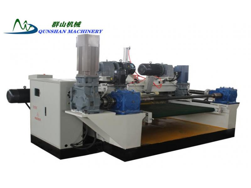4 feet Veneer Peeling Machine for making plywood veneer