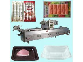 Film thermoformer vacuum&MAP packing machine