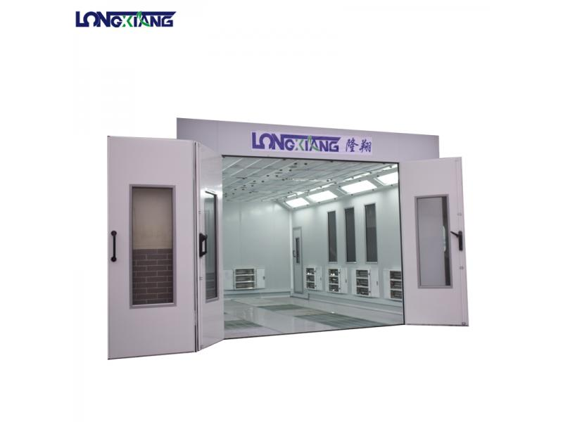 Water Curtain Spray Booth Design For Sale