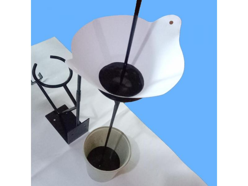 paper paint strainer 140g 125micron /paperfillter/paper funnel