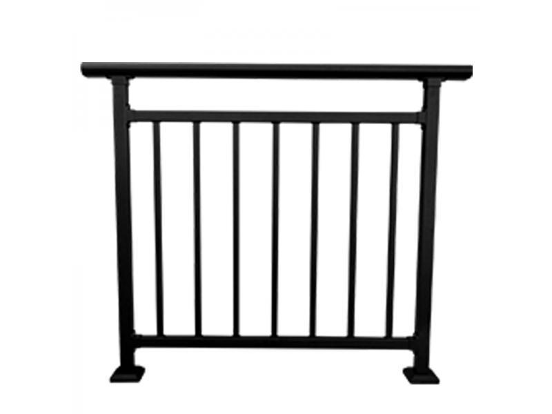Galvanized steel balcony railing design