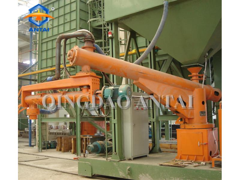 Double arm S25 series resin sand continuous mixer