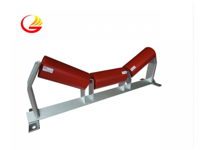 SPD Low Radial Runout Steel Belt Conveyor Idler Roller for Iron Ore Plant