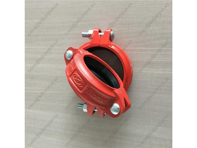 Ductile Iron ASTM A536 Pipe Fitting Grooved Coupling