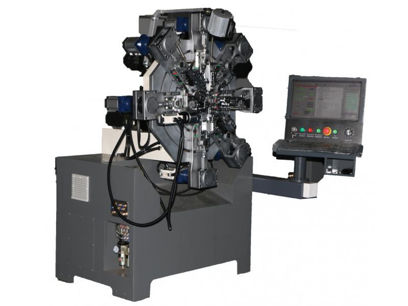 WF-1025 computer multi-axis servo driven spring machine