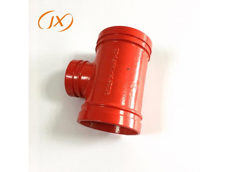 FM/UL/Ce Approved Ductile Iron Grooved Pipe Fittings