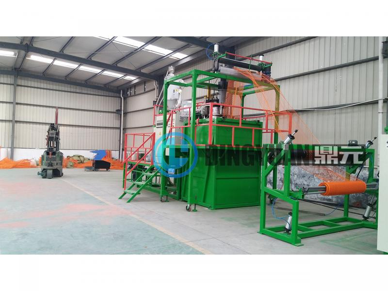 High speed good quality plastic geonet machine fence net machine