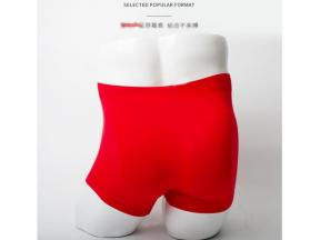 Red boxer shorts are comfortable and breathable
