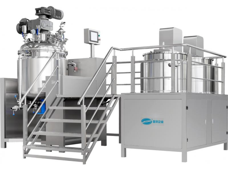 vacuum emulsifying mixing machine for beverage processing