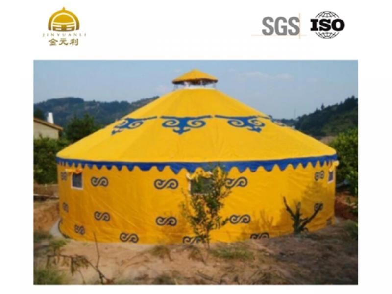 Aluminum Mongolian Yurt Tent with Five Style
