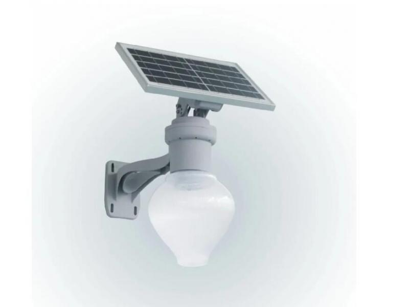 LED Solar Powered Motion Sensor Garden Lamp Outdoor Waterproof Light