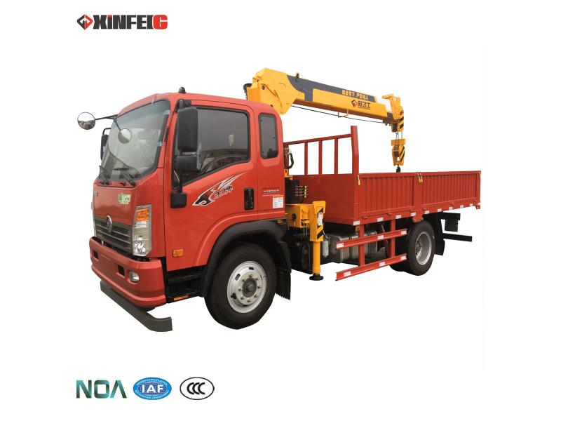 truck crane derrick crane 4t telescopic boom construction equipment lifting machinery