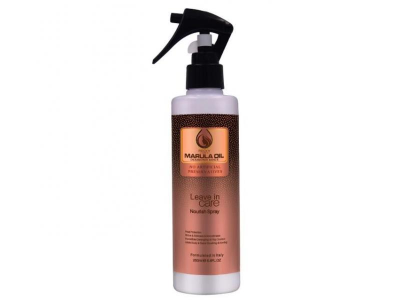 OEM Marula Oil Ultra Rich Heat Protection Nourish Spray Leave On Shining 250ml Leave On hair spray N