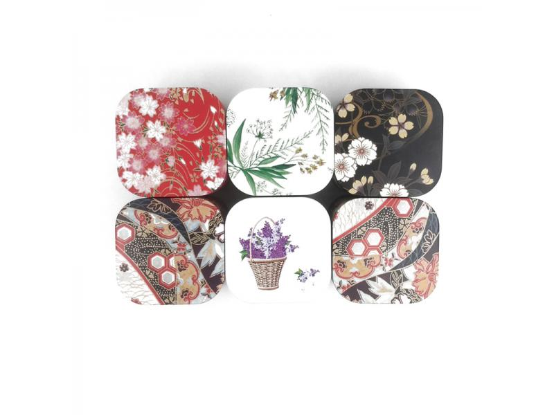 Xin Jia Yi Packaging Mini Small Semi Circle Candy Mint Cute Hinged Decorative Custom Gift Printed Ke