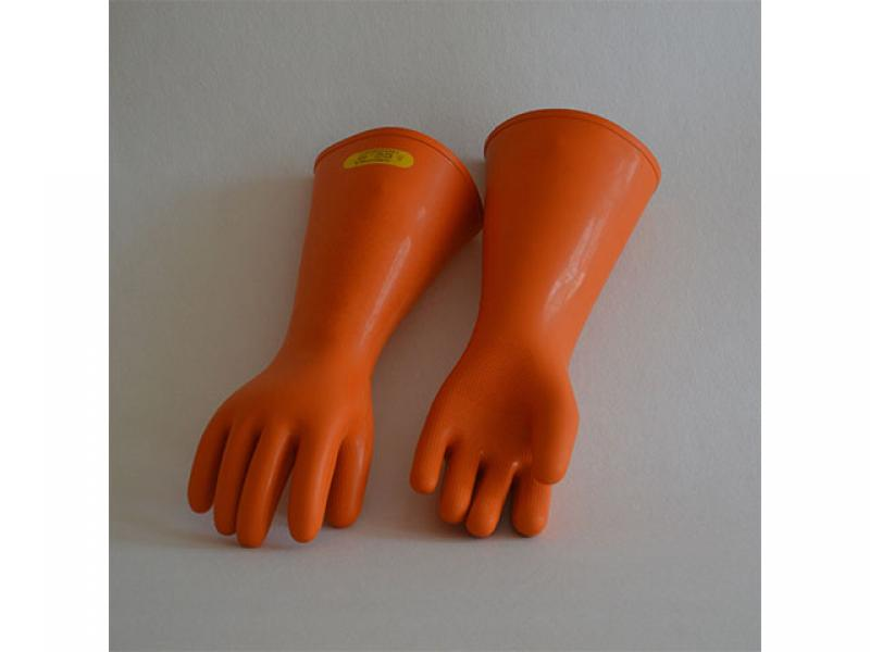 25kV rubber insulating gloves